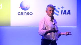 Michael O'Leary speaks at the CANSO Global ATM Summit & 18th AGM
