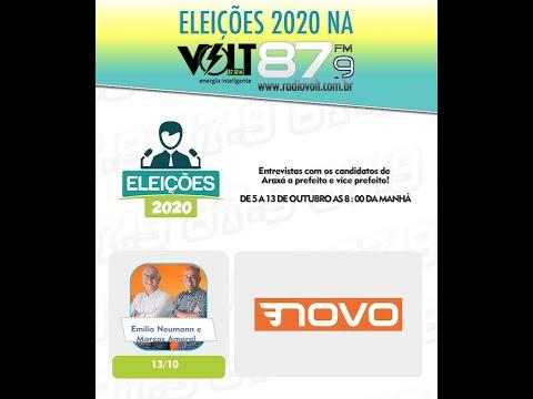 Entrevista Candidato Emilio Neumamn e Vice Marcos Amaral