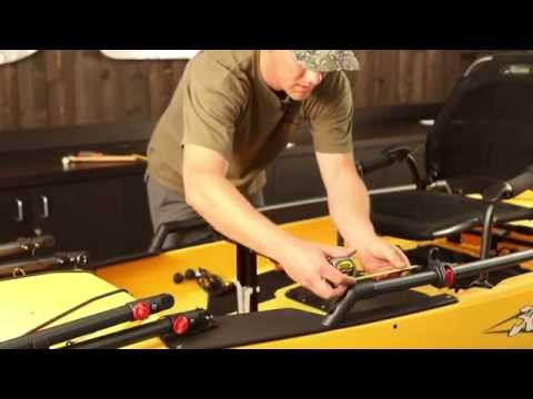 Hobie Adjustable H-Bar Install