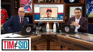 Jamie Oleksiak, Tom Wilson Both At Fault For Fight Says Cassie Campbell-Pascal | Tim and Sid