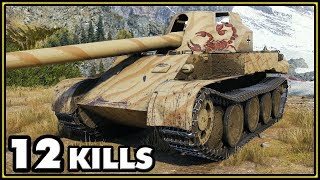 Rheinmetall Skorpion G - 12 Kills - 1 vs 5 - World of Tanks Gameplay