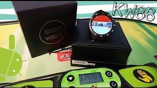 KINGWEAR KW88, smartwatch capaz de cargar POKEMON GO [Review