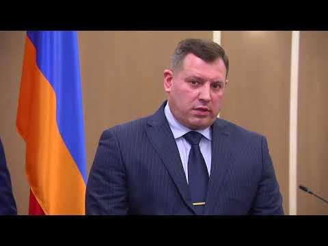В рамках трехдневного визита предусмотрен брифинг председателя Следственного комитета Республики Армении Айка Григоряна с участием представителей белорусских телекомпаний