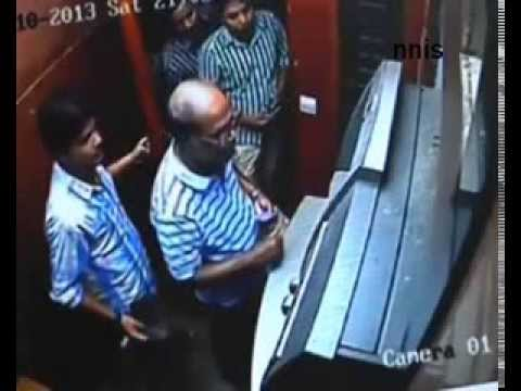 ATM Fraud caught on CCTV in Mumbai - Unseen Footage