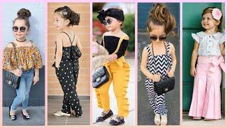 Toddler Kids Baby Girl Ruffle Bib Pants Romper/ Kids Jumpsuits