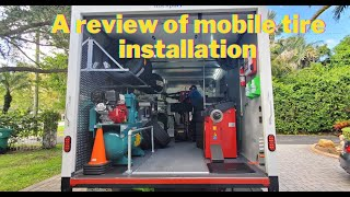 A review of mobile tire installation service