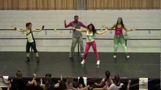 preview picture of video 'Zumba Fitness_ Tarzo Day 2013'