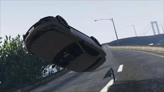 GTA 5 CAR CRASHES AND ROAD RAGE COMPILATION #3 | Dashcams, CCTV