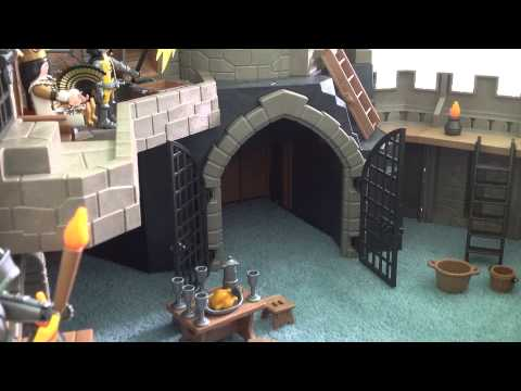 (P4865) playmobil Grand chateau du lion en boite ref 4865