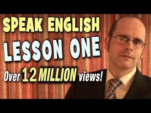 Learn English with Mr. Duncan - Lesson 1 (Introduction)