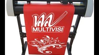 Plotter De Recorte 72cm Profissional + Pedestal + Software - MVSK800