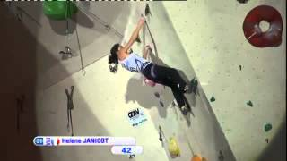preview picture of video 'Climbing World Cup 2012 Lead Imst, AUT - Women's Finals'