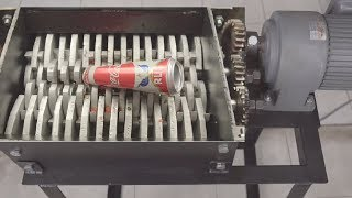 How To Make Shredding Machine - Amazing DIY Machine Destroys Everything