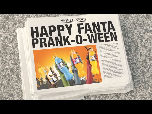 HAPPY FANTA PRANK-O-WEEN