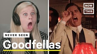 These People Have Never Seen Martin Scorseses Goodfellas | NowThis