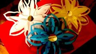 Украшения из бумаги,Handmade.цветы из бумаги, Paper Snowflakes.Flowers