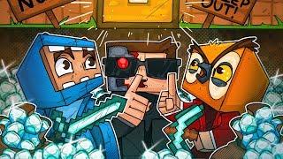 We Stole Nogla's Diamonds! The Minority Cave Strikes In Minecraft