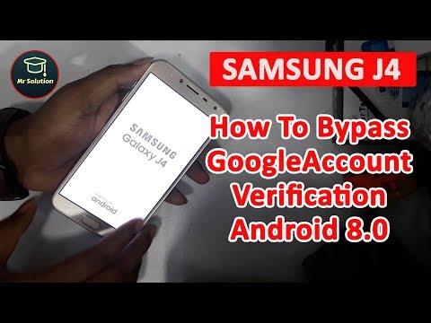 Samsung Galaxy J4 2018 SM-J400F Google Account Verification Bypass Tutorial