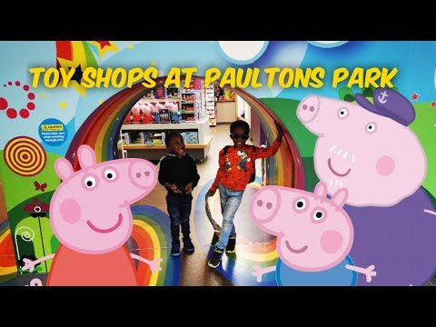 PEPPA PIG WORLD TOY SHOPS | OUT AND ABOUT VLOG