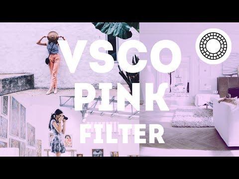 Video Cara Edit Pink Filter di VSCO Android dan iOS | Tutorial