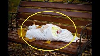 Он нашёл этого ребенка одного на скамейке. Через 10 лет свершилось чудо