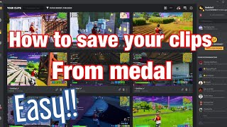 How To Download Your S From Medal!!! 2020  Easy