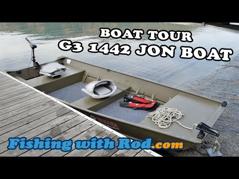 Boat Tour: G3 1442 Jon Boat | Fishing with Rod