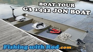 Boat Tour: G3 1442 Jon Boat | Fishing With Rod
