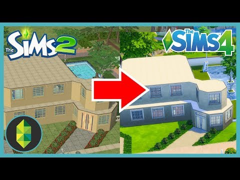 Building a Sims 2 house in The Sims 4!