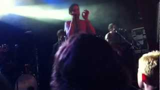 The All-American Rejects - Walk Over Me @ The Garage, London 15/03/12
