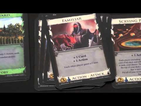 Dice Tower Reviews: Dominion: Alchemy