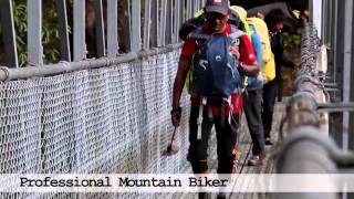 preview picture of video 'Yak Ru extreme mountain biking race in Nepal'