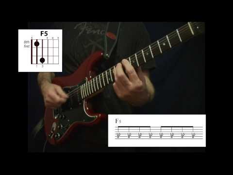 Power Chord Lesson Major and Minor Classic 4 Chord Progressions