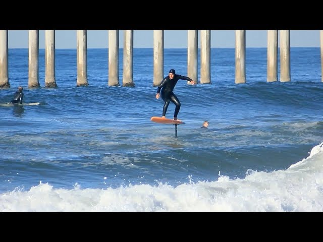 Surfing HB Pier | March 4th | 2018 (RAW)