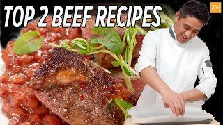 Top 2 Beef Recipes | How To Cook Beef  • Taste Show
