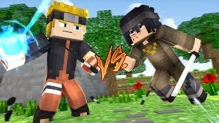 Minecraft: Batalha (Naruto) - Naruto The Last Vs Sasuke The Last #17