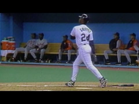 Griffey hits upper-deck homer at Kingdome