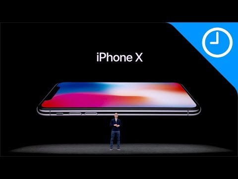 iPhone X keynote