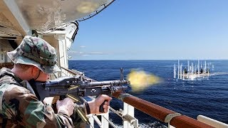 Americans And Russians Against Somali Pirates