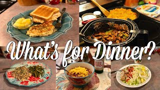 What's for Dinner| Easy & Budget Friendly Family Meal Ideas| January 2020