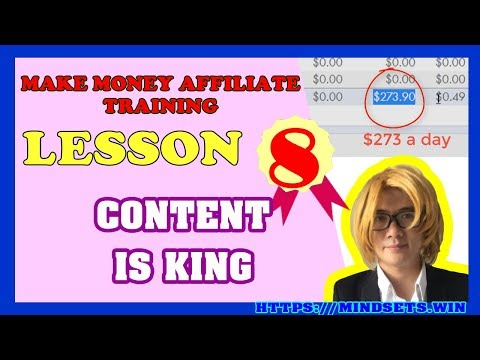 How To Make Money Online Fast 2018 | Making Money From Home With Affiliate Marketing|P8