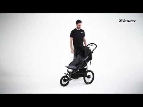 X Lander X Run Jogger Dreirad Buggy Luftreifen