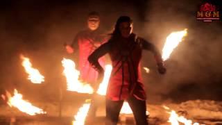 Дуэт огненного шоу M&M Fire Show 2017 Витебск