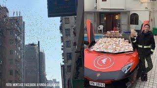'Hujan Uang' di Hong Kong, Kepolisian Tangkap Pria Diduga Pelaku Utama