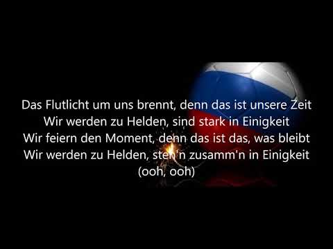 Flutlicht - Adel Tawil (Lyics) WM 2018 Song