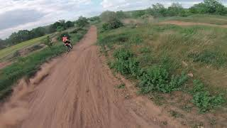 Dji fpv motocross chase :)
