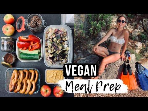 MEAL PREP FÜR DEN URLAUB // Vegan