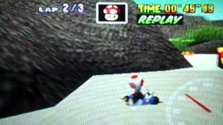 MK64 - former world record tie on Koopa Troopa Beach - 30''92 (NTSC: 25''72)