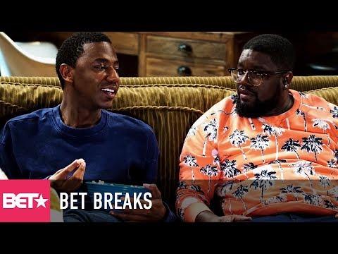 Jerrod Carmichael & Lil Rel Howry's New Comedy Pilot - BET Breaks