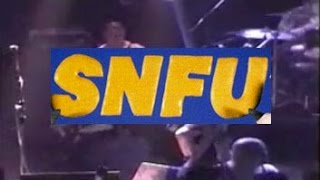 SNFU reality is a ride on the bus MONTREAL 1997